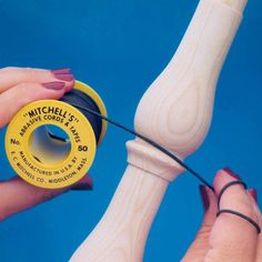 Mitchell's Abrasive Sanding Cords and Tape - Rockler.com Woodworking Tools