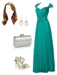 """{Princess Philippa} Pre-Wedding Celebrations for Crown Prince Caledon & Crown Princess Mia"" by lovelyroyalfashion on Polyvore featuring Jimmy Choo, Ross-Simons and Ultimate"