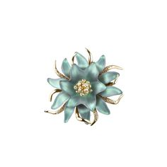alexis bittar floral brooch