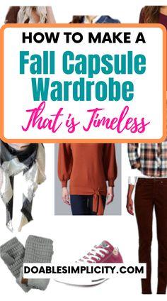 Fall Wardrobe Basics, Basic Wardrobe Pieces, Fall Wardrobe Essentials, Simple Wardrobe, Fall Capsule Wardrobe, Fashion Essentials, Wardrobe Ideas, Fall Fashion Staples, Fashion Capsule