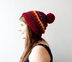 The slouchy boho hat