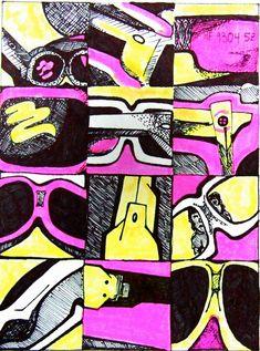 value, design, drawing, color, balance, rhythm, . . .