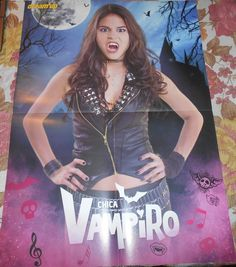 Chica Vampiro Greisy Rendon -  A2 Poster France