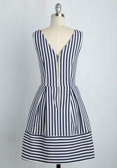 Littoral Interpretation Dress | Mod Retro Vintage Dresses | ModCloth.com