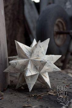 DIY: Bascetta-stjerne   fold you so!