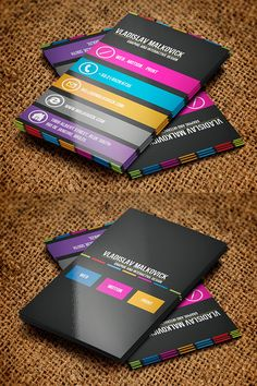 Designer Business Card 2 by Jorge Lima in 50 Business Cards for Inspiration