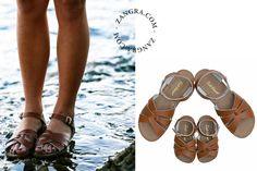 sandales d'eau en cuir - brun