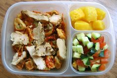 Yummy Lunch Ideas - Yummy Lunch Box Gallery - even for adults! Need to get those containers.