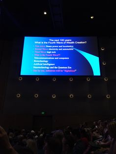 Michael Arensdorff ‏@marensdorff25  @michiokaku where does wealth come from? #ISTE2016