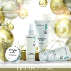 The ultimate pampering gift for smooth, beautiful, cared-for feet. #BeautiControl BC Spa Pedicure Collection makes for the perfect stocking stuffer!