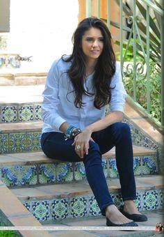 Nina Dobrev's hair - it's looks so amazingly natural