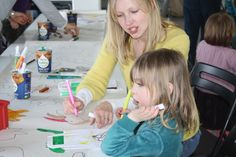 Oodles of doodles at We Are Family with Bristol Children's Scrapstore and Artrageous on 29/03/14.