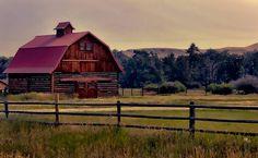 Barn Scene Photograph