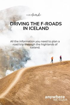 Driving the F-Roads in Iceland takes you into the amazing scenery of the remote highlands, but can be challenging. Iceland Travel Tips, Europe Travel Tips, Travel Tours, Travel Guides, European Road Trip, Europe On A Budget, Beautiful Places To Travel, Car Rental, Highlands