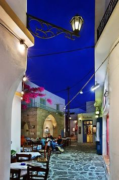 Plaka in Milos Island, Greece
