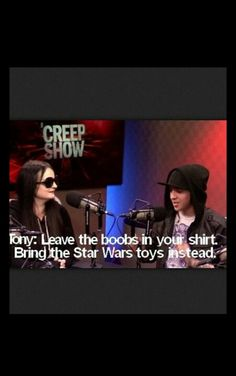 one day ill go meet them and bring all my little brother star wars toys and show them to tony. :)