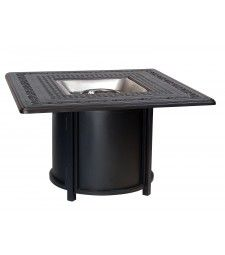 Universal Round Fire Table Base with Square Burner