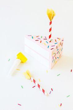 DIY Birthday Cake Box | Studio DIY®