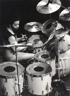 Tony Williams - Of course he went on to do a lot after but I love the work with Miles Davis (particularly the underrated 'Miles in the Sky'). People go on and on about rock drummers, but really, were any of them on a level with guys like this?
