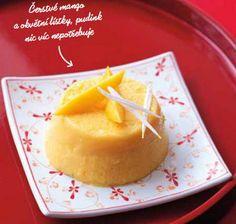 Mangový pudink (www.albert.cz/recepty)