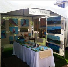 Amanda Holt Robicheaux's art booth set up The Big Easel Lafayette, La 10x10 Canopy, Photography Booth, Booth Decor, Vendor Booth, Art Fair, Easel, Craft Fairs, Photo Booth, Amanda