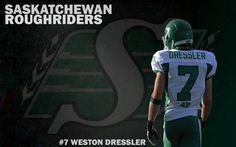 Weston Dressler:-) I love him! Go Rider, Saskatchewan Roughriders, Saskatchewan Canada, I Love Him, My Love, Great Pictures, Green Colors, Football Helmets, Pride