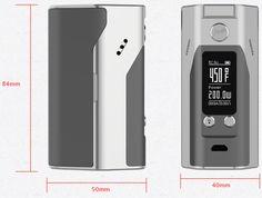 vapingorder: New Reuleaux RX200S 200W TC Box Mod
