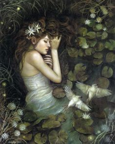 Ophelia by PinkParasol.