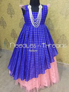 frock desings by Angalakruthi boutique Bangalore Frocks For Girls, Gowns For Girls, Dresses Kids Girl, Kids Frocks Design, Baby Frocks Designs, Kids Lehanga Design, Frock Patterns, Kids Dress Patterns, Kids Dress Wear