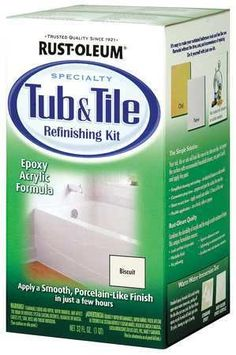 Specialty Gloss Biscuit Tub and Tile Refreshing Kit,1 qt.