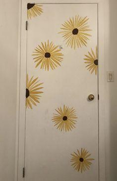 FLOWER PRINT DOOR