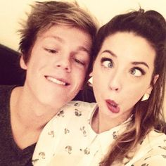Caspar and Zoe My two favorite people <3