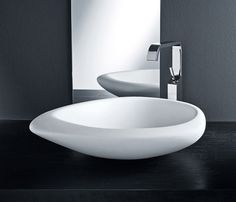fantastic feel to this organic basin - Sasso by Mastella Design #DesignEx2012
