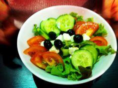Salade grecque ! #salad #food #french
