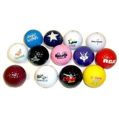 GOLF BALLS ASSORTED -6 PK