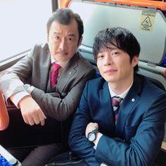 【公式】おっさんずラブ🌸ドラマアカウント on Instagram \u201cおっさんずラブ 今朝クランクインしました🌸  はるたんと部長、仲良しこよしでお話中♬ 田中圭 吉田鋼