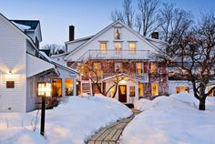 Vermont Hotels & Inns - Best Luxury Lodging | Windham Hill Inn - stayed here for our Anniversary a few years ago! It is wonderful and worth the drive out to it.