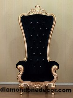 "Fabulous Baroque ""Absolom"" Style Rococo Louis XV Glamorous French Reproduction Throne Chair"