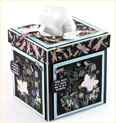 Tissue box by Joanna using CI-422 and CI-409+