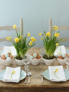 Inspiration : Jolies tables pour le brunch de Pâques