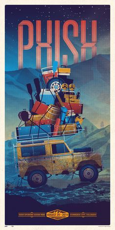 DKNG Studios » Phish Commerce City, CO Poster Series