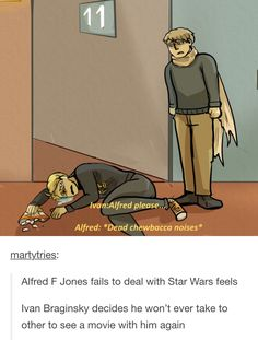 i thought it was funny until i realized it was about han solo and then i wanted to cry in the floor next to america :(
