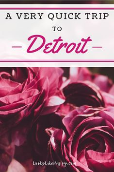 A Very Quick Trip to Detroit | Heading to Detroit? Be sure to check out the Fox theater and the incredible farmer's market!  #travel #detroit