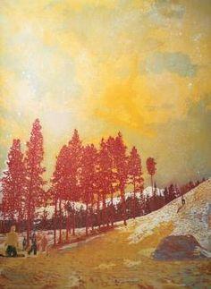 Peter Doig. Orange Sunshine