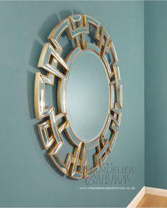 Bomarzo Mirror   Chandeliersandmirrors  120 dia