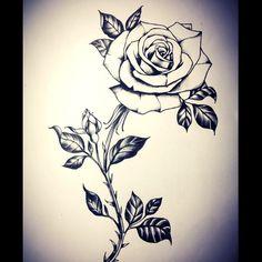 #Rosestattoo #floraltattoo by #misssita @ #oneoninebarcelona #flowerdrawing