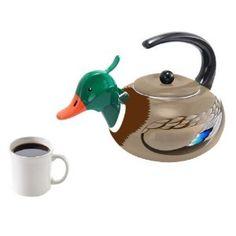 tea kettles | Animal Tea Kettles: Giraffe, Duck, and Rooster | Get Cooking!