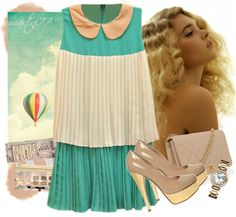"""""""vintage mode"""" by martini77 ❤ liked on Polyvore"""