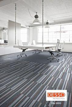 desso carpet tiles - Ritz