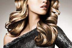 Hair Pantone by H3ADS, via Behance